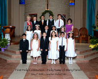 First Holy Communion Holy Name of Mary 2014